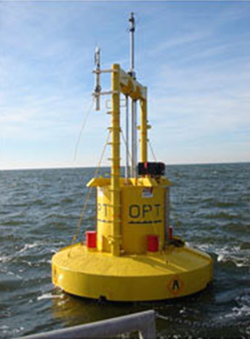The PowerBuoy has undergone ocean testing in both the Atlantic and Pacific Oceans