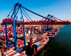 The global container port industry is forecasted to boom by 2017